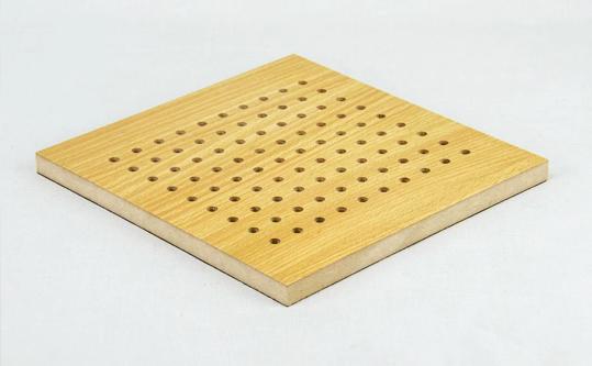 木质穿孔吸音板